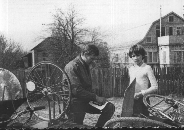 1977 год. Моя первая гонка.